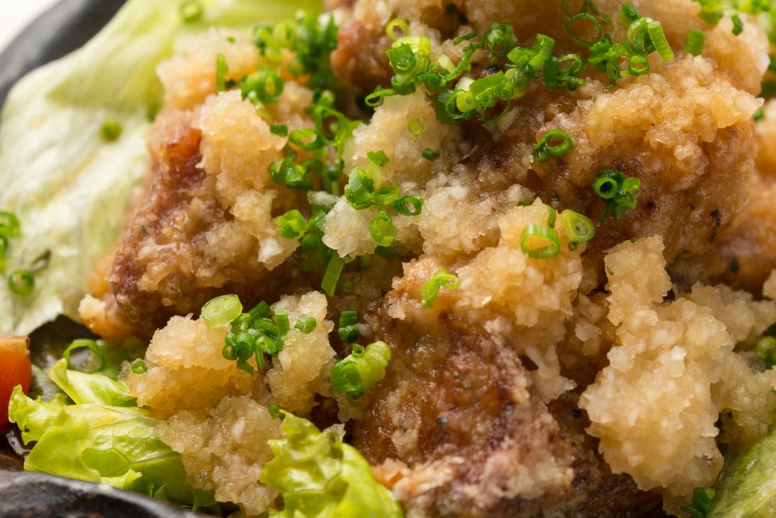 豚ロースの唐揚げ・おろしポン酢