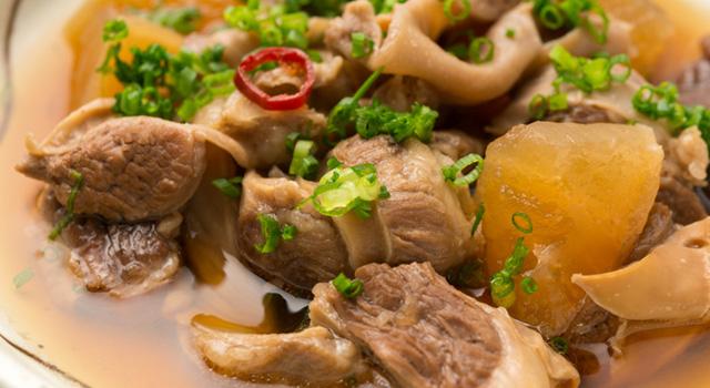 アラカルトの各種豚肉料理