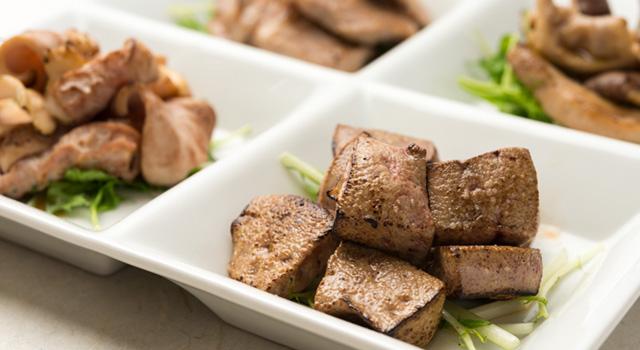 朝挽きの豚焼き