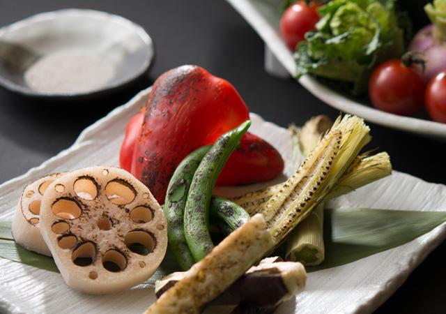 旬野菜の盛り合わせ
